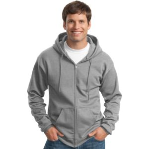 P&C Unisex 50/50 Full-Zip Hooded Sweatshirt Thumbnail