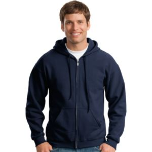 Gildan Unisex Full-Zip Hooded Sweatshirt Thumbnail