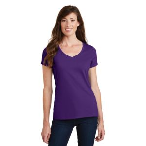 P&C Ladies 4.5oz Fan Favorite V-Neck T-Shirt Thumbnail