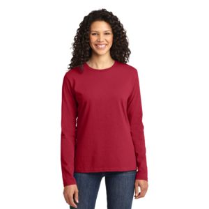 P&C Ladies 5.4oz Long Sleeve T-Shirt Thumbnail