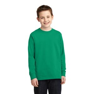 P&C Youth 5.4oz Cotton Long Sleeve T-Shirt Thumbnail
