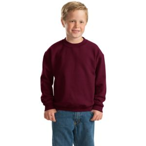 Gildan Youth Heavy Blend Crewneck Sweatshirt Thumbnail