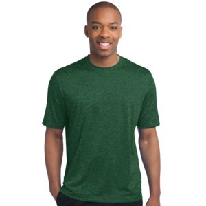 Sport Tek Unisex Heather Poly T Shirt Thumbnail