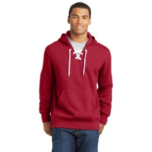Sport Tek Unisex Hockey Style Hooded Sweatshirt Thumbnail