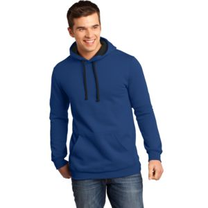 District Unisex Light Fleece Hooded Sweatshirt Thumbnail