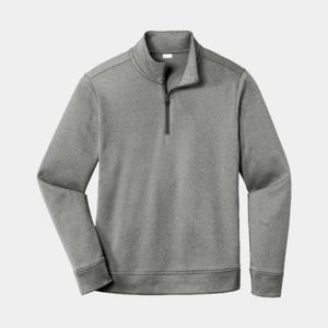 Sport-Tek Unisex PosiCharge Heathered Fleece 1/4-Zip Thumbnail