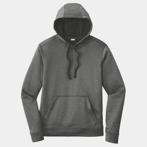 Sport-Tek Unisex PosiCharge Heathered Fleece Hoodie Thumbnail