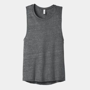 Ladies Flowy Scoop Muscle Tank Thumbnail