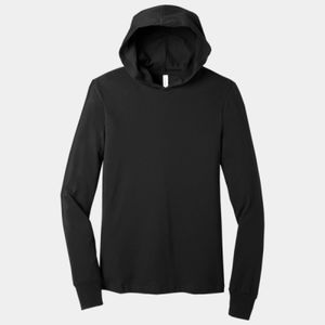 Unisex Jersey Long Sleeve Hoodie Thumbnail