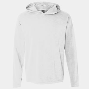 Unisex Heavyweight Ring Spun Long Sleeve Hooded Tee Thumbnail